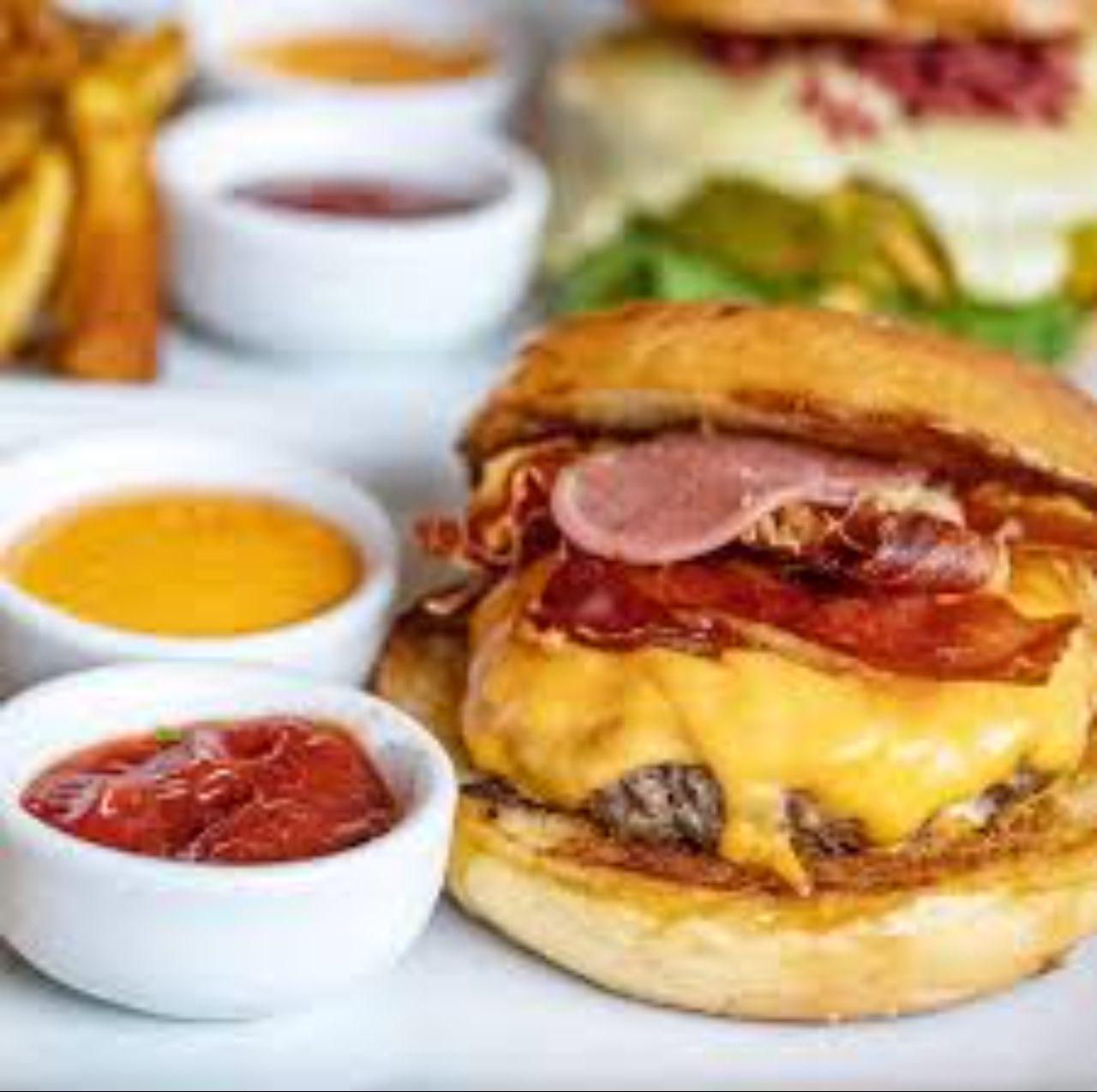 Hambúrguer de blend